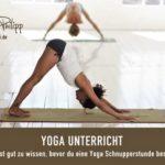 Yoga Unterricht - Blog Saphi