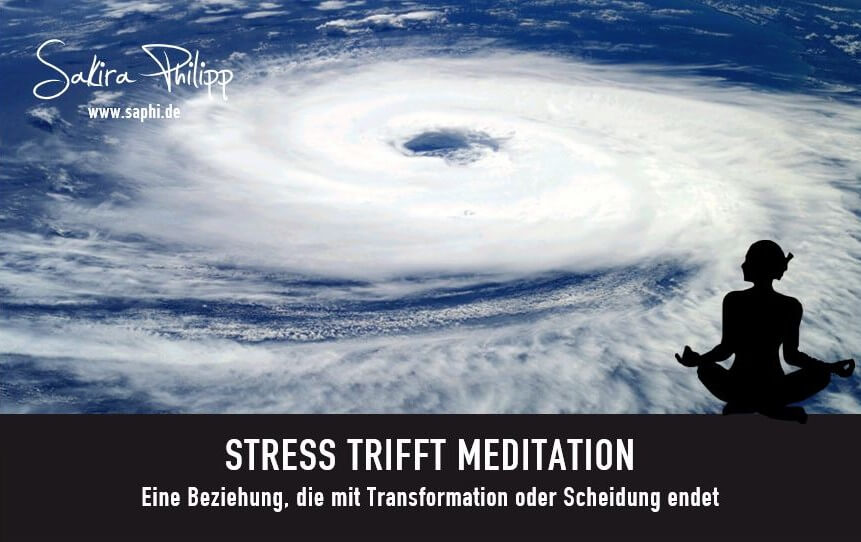 STRESS TRIFFT MEDITATION